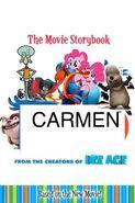 Carmen Movie Storybook cover