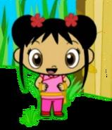 Kai-Lan as an Acrobat