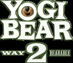 Yogi Bear - Way 2 Bearable (logo)