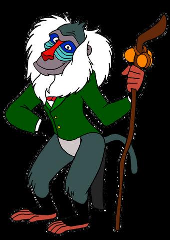 File:Rafiki as the wizard of oz by lionkingrulez-d5t3ik3.png