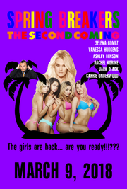 Spring Breakers - The Second Coming teaser poster
