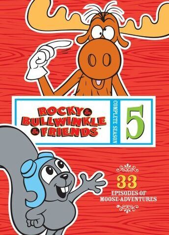 File:Rocky and Bullwinkle And Friends Season 5 DVD.jpg