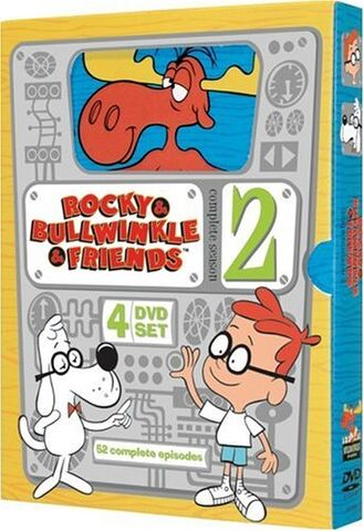 File:Rocky and Bullwinkle and Friends Season 2 DVD.jpg