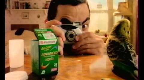 Publicité Fuji Mr Bean
