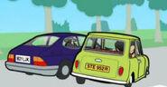 Bean saab car