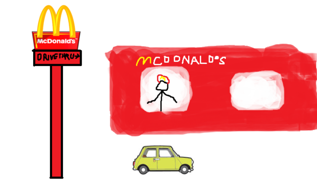 File:Mcdonald's logo Drive Thru Mr Bean.png