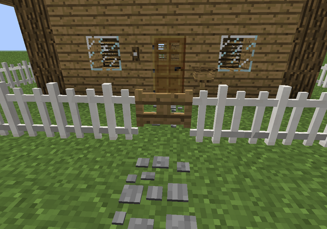 File:House front mailbox doorbell stonepath picketfence fencegate.png