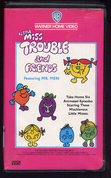 Little Miss Trouble and Friends USA VHS