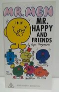 Mr Happy And Friends VHS-AUS