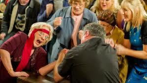 File:Hand wrestle Foley Hillary.jpg