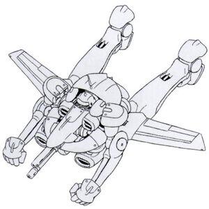 AEU-0592 AEU Hellion Initium Flight Mode