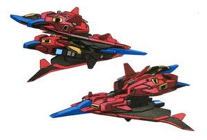 MSZ-00X Zeta Rize Waverider Mode