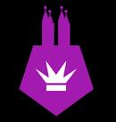 Эмблема Чёрной Королевы Дерса Б1.