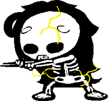 Troll skeleton