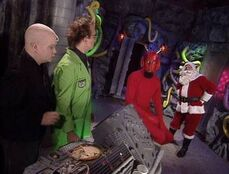 MST3k Santa Claus Deep 13 Host Segment- Santa Claus & Pitch visit