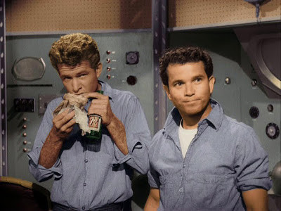 File:RiffTrax- Gary Clarke and Tommy Cook in Missile to the Moon.jpg