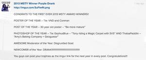 Msty awards