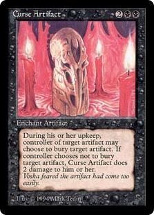 Curse Artifact DK
