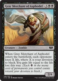 Gray Merchant of Asphodel C14