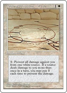 Circle of Protection White 4E