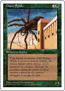 Giant Spider 4ED