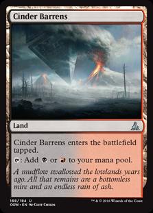 Cinder Barrens OGW