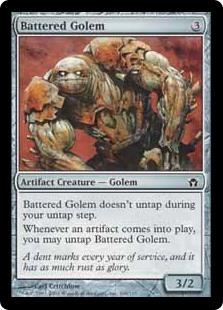 Battered Golem 5DN