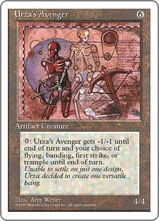 Urza's Avenger 4E