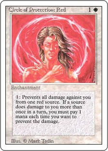 Circle of Protection Red 3E