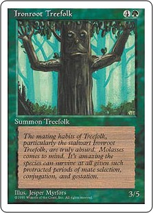 Ironroot Treefolk 4E