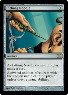 Pithing Needle 10E