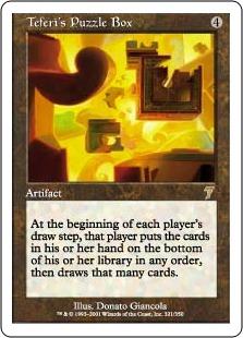 Teferi's Puzzle Box 7E