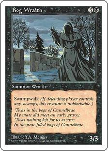 Bog Wraith 5E