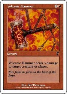 Volcanic hammer 7E
