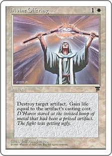 Divine Offering Leg CHR