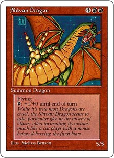 Shivan Dragon 4E