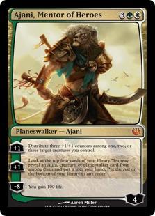 Ajani, Mentor of Heroes JOU