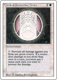 Circle of Protection Green 3E