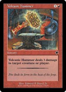 Volcanic hammer P3