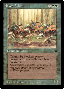 Elven Riders Leg