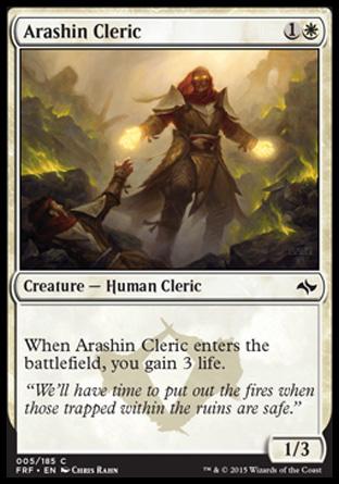 Arashin Cleric FRF