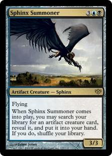 Sphinx Summoner CON