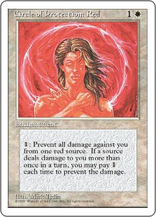 Circle of Protection Red 4E