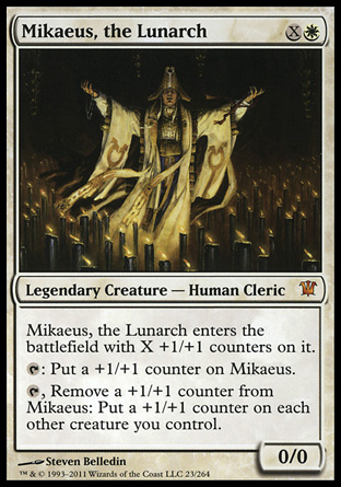 Mikaeus The Lunarch Magic The Gathering Wiki Fandom