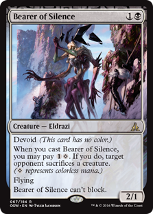 Bearer of Silence OGW