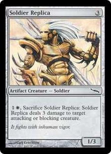Soldier Replica MRD