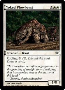 Yoked Plowbeast ALA
