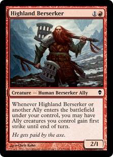 Highland Berserker ZEN