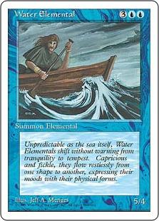Water Elemental 4E