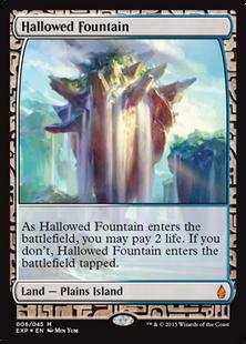 Hallowed Fountain EXP